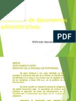 Redacción documentos administrativos
