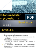 3° ano ditadura militar e redemocratizao 2016