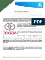 El Sistema de desarrollo de productos de Toyota
