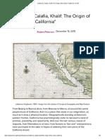 California, Calafia, Khalif_ The Origin of the Name _California_ _ KCET