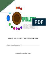 Manuale per Chierichetti 2016