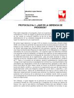 PROTOCOLO No.1