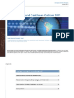 Latin America and Caribbean Outlook - Jan 2011