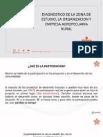 DIAGNOSTICO DE LA ZONA DE ESTUDIO, LA ORGANIZACION Y EMPRESA AGROPECUARIA RURAL