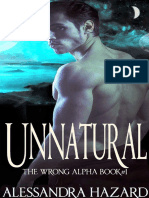 Antinatural 01 - El Alfa Equivocado