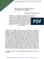 LOS DERECHOS SOCIALES COMO TECNICA DE PROTECCION JURIDICA.pdf