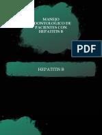 MANEJO DE HEPATITIS B