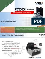 VP700 Technical Training Rev 8a