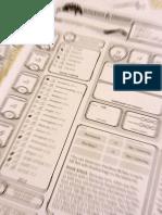 Roteiro de Criação de Personagens Do Nível 1 - RPG,  D&D 5e