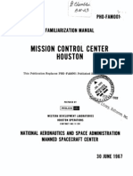 Familiarization Manual Mission Control Center, Houston