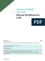 Sistema Sysmex ca1500 Manual de Referencias.pdf