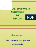 CONTROLE DE PERDAS