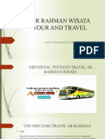AR RAHMAN WISATA TOUR AND TRAVEL
