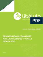 Huella hidrica y de Carbono (Libélula)
