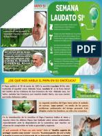 ENCÍCLICA LAUDATO SÍ - 6TO GRADO (1)