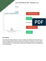 Le groupe d'oujda revisité par Chérif Belkacem PDF - Télécharger, Lire (1).pdf