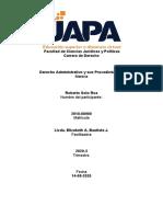Derecho Administrativo y sus Procedimientos  - Roberto - Tarea VII -14-08-2020