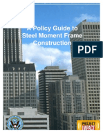 Policy Guide to Steel Moment Frame Conctructions