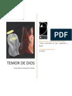 Temor de Dios - Luis Peña