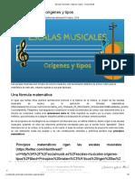 Escalas musicales_ orígenes y tipos - Social Musik