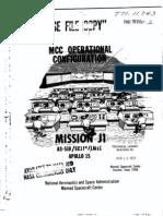 MCC Operational Configuration Apollo 15