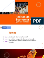 Avances Política Naranja MinCIT