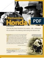 I Remember Honda Rice (Rice Today feature)