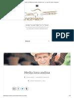 Acordes de_ Media luna andina _