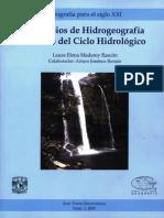 Principios de Hidrogeografia Estudio Del