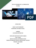 LA TECNOLOGIA DE LA INFORMACION Y LA COMUNICACIÓN12345