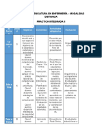 Cronograma Practica Integrada II
