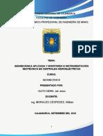MONOGRAFÍA G. A. Y MONITOREO E INSTRUMENTACIÓN GEOTÉCNICA EN CENTRALES HIDROELÉCTRICAS