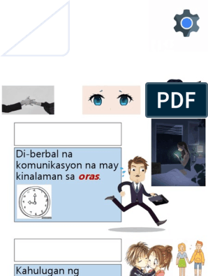 Di Pasalitang Komunikasyon Chronemics is a discipline concerned with the study of a person's use of time. di pasalitang komunikasyon