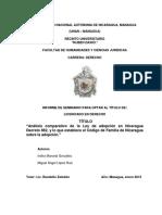 """""""Análisis comparativo de la Ley de adopción en Nicaragua ..."""