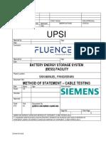 (4)BESS-SM-3Q90041-QAMS-004 METHOD OF STATEMENT -CABLE TESTING.pdf