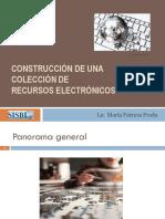 Construcción de una colección de recursos electrónicos Lic. María Patricia Prada