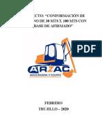 INFORME CONFORMACION DE PLATAFORMA