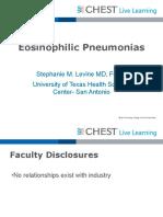 0800_Sunday_Eosinophilic Lung Disease_Levine