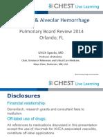 0715_Saturday_Vasculitis and Alveolar Hemorrhage_Specks