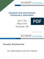 0945_Saturday_Unusual and Uncommon Pulmonary Disorders_Ryu