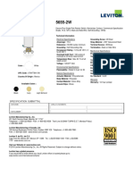 Product Spec or Info Sheet - 5655-2W
