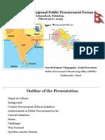 South Asian Regional Public Procurement Forum-Final