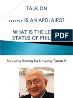 What is the AIPO?