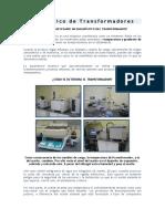 Diagnóstico de Transformadores.doc