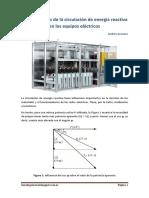 Consecuencias de la circulación de energía reactiva en los equipos eléctricos. Andres Granero