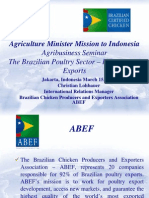 The Brazilian Poultry Sector - Industry and Exports, by Mr. Christian Lohbauer, ABEF