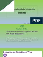 Agosto 2020 - Impuestos - Anexo Presentación
