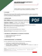 LIMPIEZA RUTINARIA DE COSTRAS EN PRECALENTADOR Y ENFRIADOR DE CLINKER.doc.docx