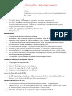Aula teórica 6 - Diabetes mellitus - Epidemiologia e diagnóstico.docx