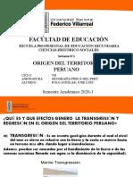 Origen Del Territorio Peruano